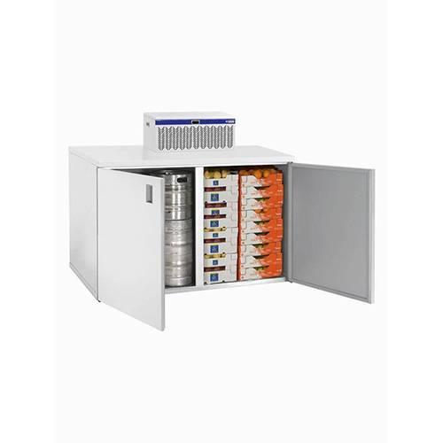 Mini-Kühlzelle + Kühlaggregat