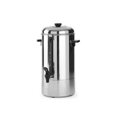 Kaffee Perkolator aus Edelstahl
