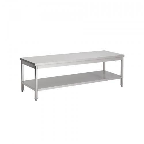 Wok-Tische aus Edelstahl